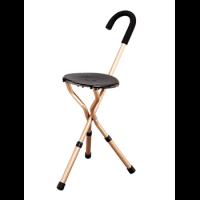 מקל כסא טלסקופי מתקפל 3 רגליים