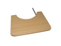 שולחן עץ מתקפל לכיסא גלגלים