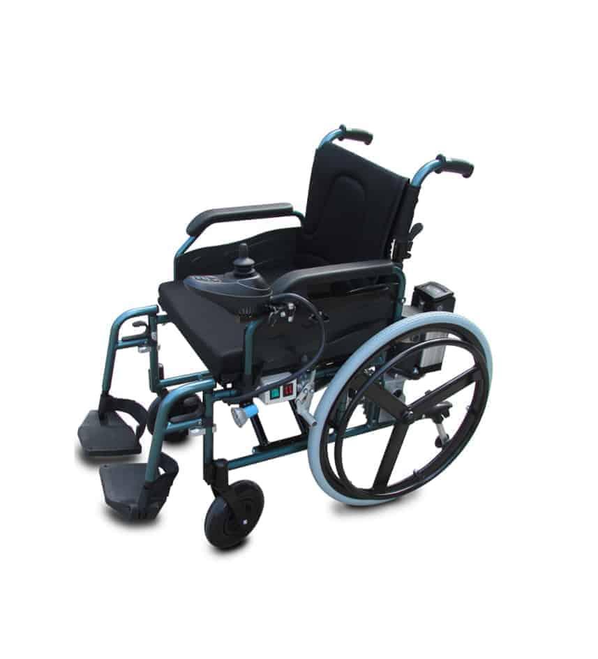 מודיעין כסא גלגלים ממונע חשמלי עם סוללות אבץ TY8710-40 - חגי אורטופדיה CE-73