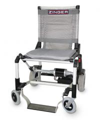 כסא גלגלים ממונע קל משקל מתקפל ZINGER