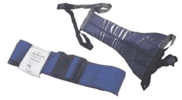 חגורת ביטחון עם קליפס / רצועה למניעת החלקה