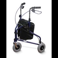 רולטור פלדה 3 גלגלים עם תיק