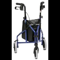 רולטור אלומיניום 3 גלגלים עם תיק