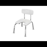 כסא טלסקופי עם פתח U